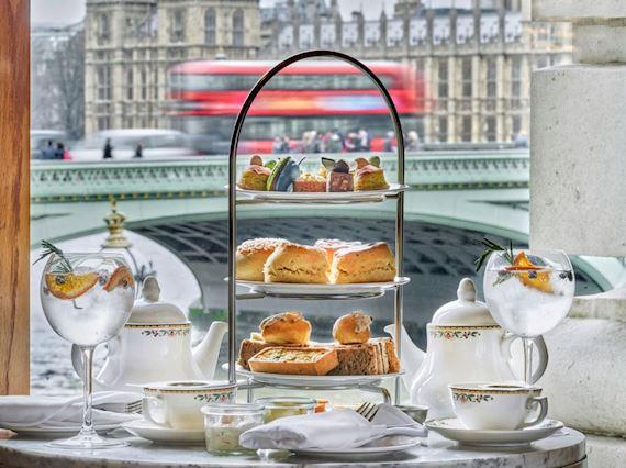 Gin and Tea afternoon tea